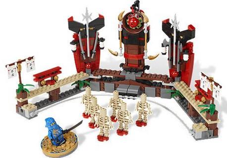 Детская игрушка Lego Ninjago Битва со скелетами (2519)