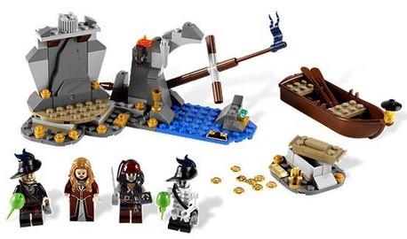 Детская игрушка Lego Pirates of  Caribbean Остров Мертвецов (4181)