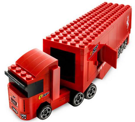 Детская игрушка Lego Racers Грузовик Ferrari F1 (8153)