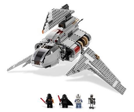 Детская игрушка Lego Star Wars Шатл императора Палпатина (8096)