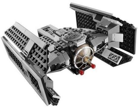 Детская игрушка Lego Star Wars Tie Истребитель Дарт Вейдера (8017)