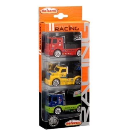 Детская игрушка Majorette Набор из 3 грузовиков Racing