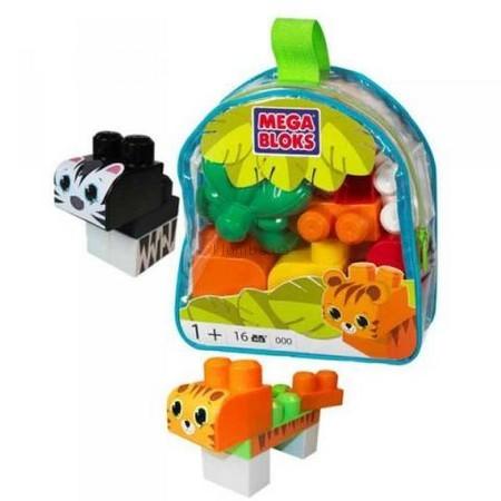 Детская игрушка MEGA Bloks Джунгли, набор в пакете