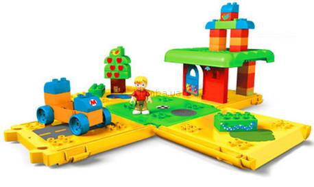 Детская игрушка MEGA Bloks Набор в ведерке Домик