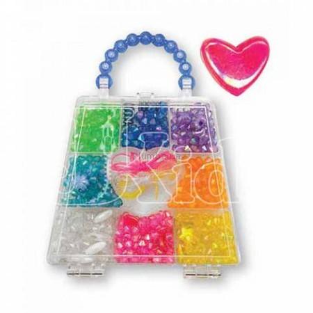 Детская игрушка Melissa&Doug Набор для творчества. Бисер - Радужные кристаллы.