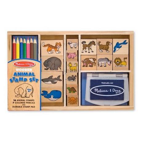 Детская игрушка Melissa&Doug Набор штампов Животные