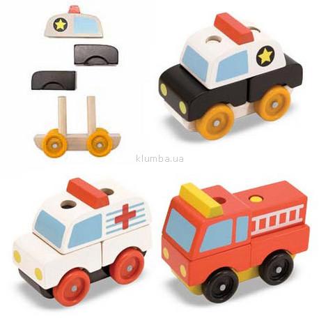 Детская игрушка Melissa&Doug Набор Спецмашинки