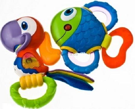 Детская игрушка Nuby Рыбка или Попугай