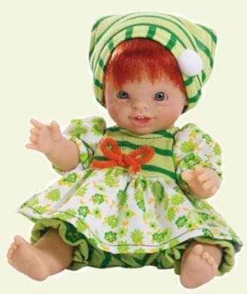 Детская игрушка Paola Reina Полина в зеленом
