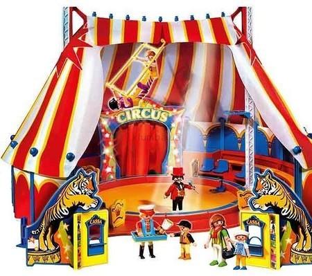 Детская игрушка Playmobil Цирковая палатка