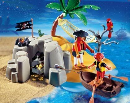Детская игрушка Playmobil Пиратский остров