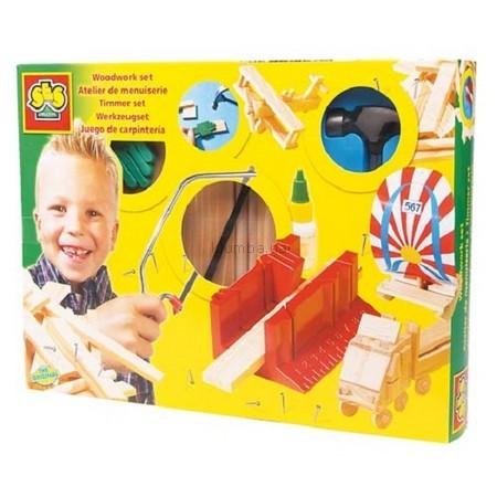 Детская игрушка Ses Набор для работ по дереву Умелые Руки