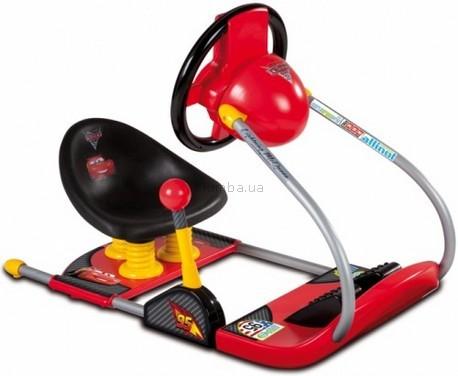Детская игрушка Smoby Интерактивный руль с сидением Тачки