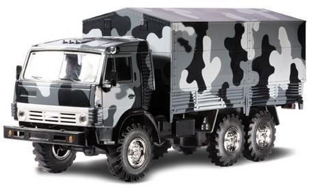 Детская игрушка Технопарк Автомодель Камаз Омон