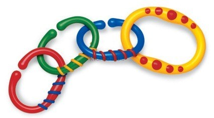 Детская игрушка Tolo Разноцветные колечки