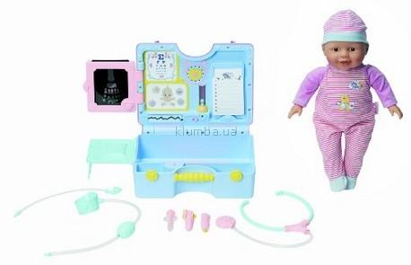 Детская игрушка Zapf Creation Кукла  с медицинским снаряжением, Шу-Шу (Сhou-Chou)