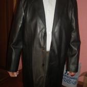 Мужской плащ пальто из кожзаменителя - 200 грн