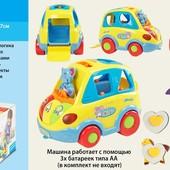"""Развивающие игрушки-сортеры """"Теремок"""",""""Говорящий домик"""" и """"Автошка"""""""