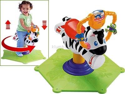 Прыгунки весёлая зебра (запорожье, прокат) фото №1