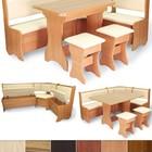 Кухонный уголок + стол + табуретки (Luxe Studio)