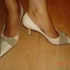 Бежевые туфли р.35-36