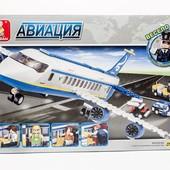 Конструктор M38-B 0366 Авиация слубан Sluban B0366 самолет літак