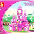 Конструктор М38-В0152 Замок для принцессы Розовая мечта, слубан 0152 дворец