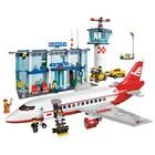 Конструктор детский J 5668 A / 3049 Аэропорт, Jubilux 791 деталь. самолет