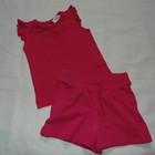 Шортики Matalan +футболка Early Days на 6-12 мес,рост 68--80 см 100% хлопок