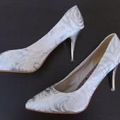 белые свадебные туфли р 42 в Наличии