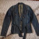 Джинсовый пиджак в отличном состоянии