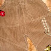 Штаны вильветовые 1-1,5 года
