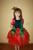 Новогодний карнавальный костюм Роза, Троянда, Цветочек, Цветок, Квіточка. Фотография №3