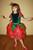 Новогодний карнавальный костюм Роза, Троянда, Цветочек, Цветок, Квіточка. Фотография №4