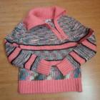 Махеровый теплый свитер-гольф, 42-44 р.
