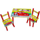 Стол с двумя стульчиками Bambi (Metr+) M 0292 Тачки