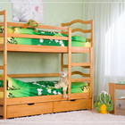 Двухъярусная кровать из дерева София