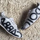 мужские кожаные летние кроссовки Dolce & Gabbana в наличии