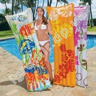 Матрас надувной для плавания Intex 59720 Fashion Mats (183 х 69 см)