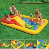 Надувной бассейн Аквапарк Intex 57454, Интекс басейн дитячий