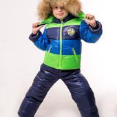 Детский зимний комбинезон костюм для мальчика