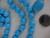 Бусы, серьги, бирюза б/у. Фотография №2