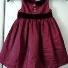 Платье на 12-18 мес. фирменное, 80-86 см по бирке