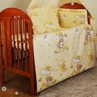 бампер бортик бортики защита для детской кроватки защитное ограждение в детскую кроватку 2 части