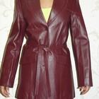 Кожаная куртка жакет  новая