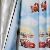 Компаньены тюль и шторы блэкаут Тачки
