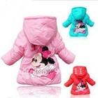 Курточка для девочек осень-весна BABY MINNIE с капюшоном