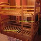 Двухъярусная кровать Иринка с ящиками