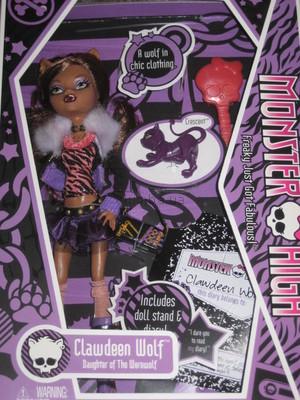 Кукла Монстер Хай Дракулаура базовая Mattel Monster High Clawdeen ...