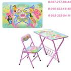 Детский столик со стульчиком складной Феи DT 20-2